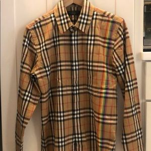 Burberry Button down - worn once!